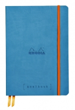 , Bullet Journal Rhodia A5 60vel dots turkoois
