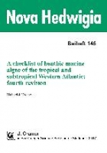 Wynne, Michael J. A checklist of benthic marine algae of the tropical and subtropical Western Atlantic. fourth revision