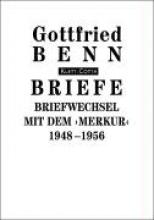 Benn, Gottfried Briefe Briefwechsel mit dem `Merkur`. 1948-1956