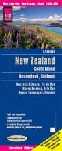 , Reise Know-How Landkarte Neuseeland, Südinsel  1:550.000
