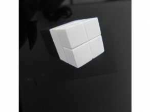 , magneet voor glasbord Sigel 20x20x20mm Super Strong wit
