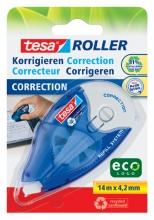 , Correctieroller Tesa ecoLogo 4.2mmx14m eco navulbaar op blister