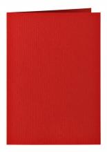 , Correspondentiekaart Papicolor dubbel 105x148mm Rood