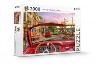 , Rebo legpuzzel 2000 stukjes - Driving through Paris