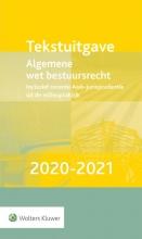 , Tekstuitgave Algemene wet bestuursrecht 2020-2021