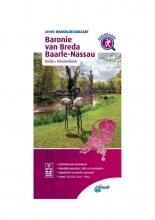 ANWB , Wandelregiokaart Baronie van Breda, Baarle-Nassau 1:33.333