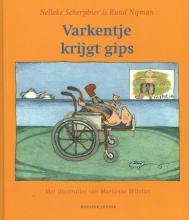 Nelleke  Scherpbier Varkentje krijgt gips
