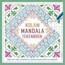 Kolam mandala tekenboek