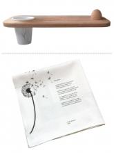 Martin  Bril, Remco  Campert Plint Kerstpakket Ontbijten met kunst Deluxe
