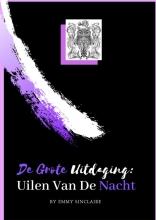Emmy Sinclaire , Volwassenen kleurboek De Grote Uitdaging : Uilen Van De Nacht