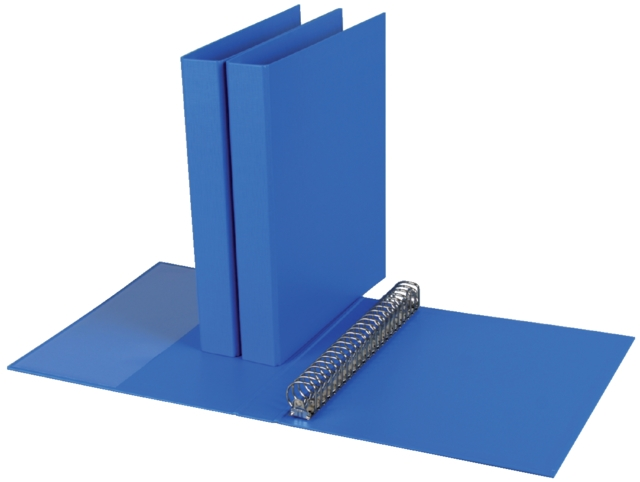 ,Ringband Quantore A4 23-rings D-mech 27mm PP blauw