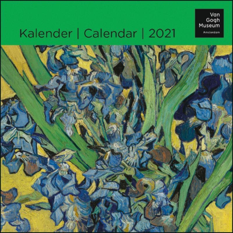 ,Van Gogh mini maandkalender 2021