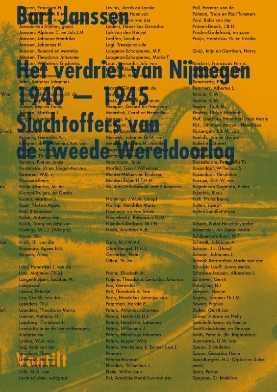 Bart Janssen,Het verdriet van Nijmegen 1940-1945