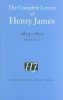 James, Henry,Complete Letters of Henry James, 1855 1872 vol.2
