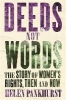 Pankhurst, Helen,Deeds Not Words
