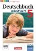 Wagener, Andrea,Deutschbuch 5. Schuljahr. Arbeitsheft mit Lösungen und Übungs-CD-ROM. Gymnasium Hessen