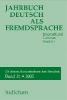 ,Jahrbuch Deutsch als Fremdsprache 31/2006