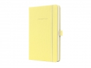 ,notitieboek Sigel Conceptum Pure hardcover A5 Smooth Yellow gelinieerd