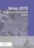 ,<b>Wmo Wetgeving & Rechtspraak 2018-1</b>