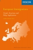 European immigrations,trends, structures and policy implications