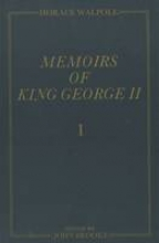 Walpole, Memoirs of King George II 3V Set