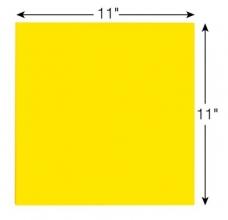 , Scrum Big Notes 3M Post-it 27.9x27.9cm geel
