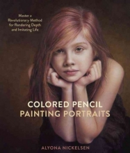Alyona Nickelsen Colored Pencil Painting Portraits