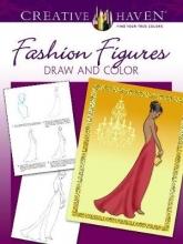 Barbara Lanza Creative Haven Fashion Figures Draw and Color