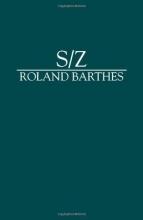 Barthes, Roland S/z