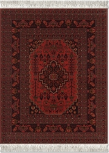, Muismat tapijt the antique-red afghanistan