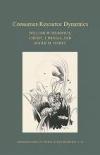 William W. Murdoch,   Cheryl J. Briggs,   Roger M. Nisbet Consumer-Resource Dynamics (MPB-36)