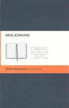 Moleskine Classic Notebook, Pocket, Ruled, Sapphire Blue