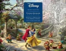 Thomas Kinkade Disney Dreams Collection Thomas Kinkade Studios Disney Princess Coloring Poster