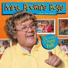 Mrs Brown`s Boys Official 2018 Calendar - Square Wall Format