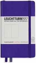 Lt346683 , Leuchtturm pocket notitieboek 90x150 dots/puntjes purple