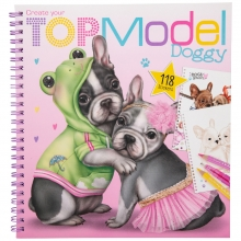 , Create your topmodel doggy kleurboek