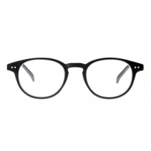 Ycb003 , Leesbril icon matt rubberized black 1.00