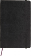 , Moleskine Limited Collection Leather Notebook In Box Large Ruled Black