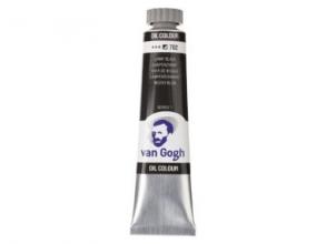 , Talens van gogh olieverf tube 20 ml lampenzwart 702