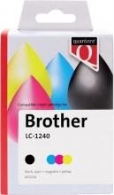 , Inktcartridge Quantore Brother LC-1240 zwart+ 3 kleuren