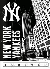 , Schrift a4 lijn new york yankees zwart