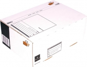 , Postpakketbox 4 CleverPack 305x215x110mm wit 25stuks