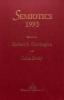 Corrington, Robert S.,   Deely, John, Semiotics 1993