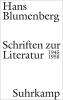 Blumenberg, Hans, Schriften zur Literatur 1945-1958