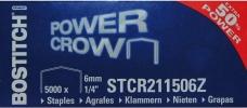 , Nieten Bostitch B8 staal STRC2115 6mm gebogen rug 5000stuks