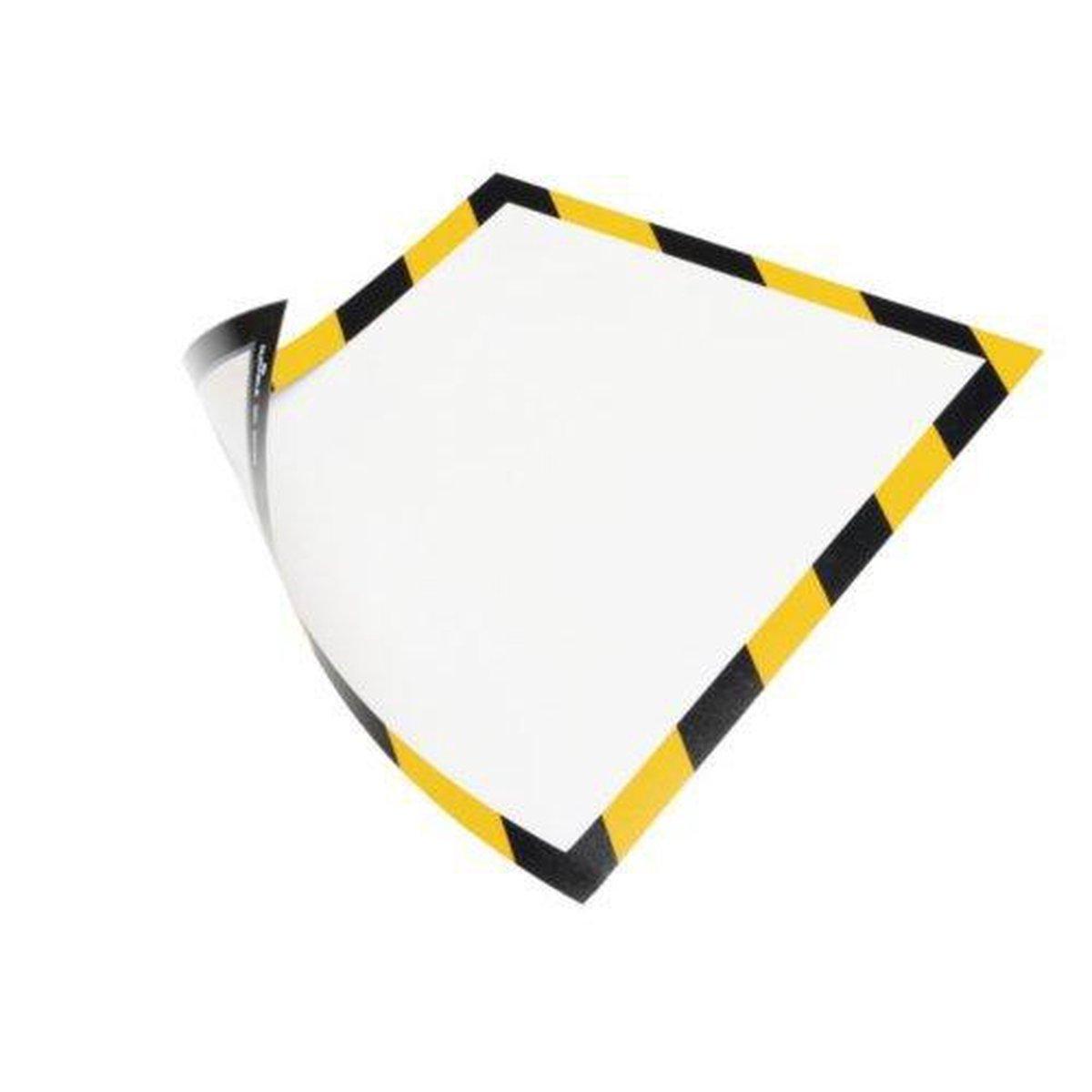 ,Duraframe Durable 4945130 security A4 magneet geel/zwart