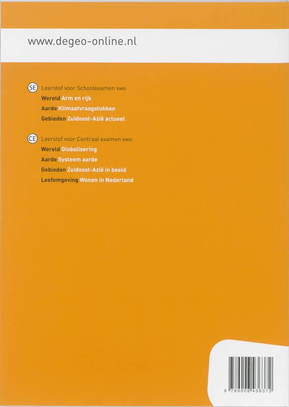 I.G. Hendriks, J.H. Bulthuis, H.M. van den Bunder, G. Gerits, J.H.A. Padmos, A.M. Peters, B. van Wanrooij,De geo Aarde Systeem aarde Vwo Werkboek