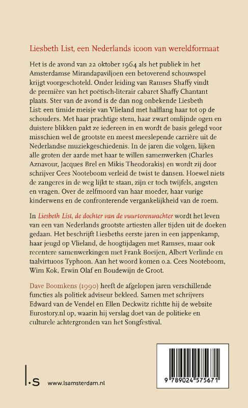 Dave Boomkens,Liesbeth List