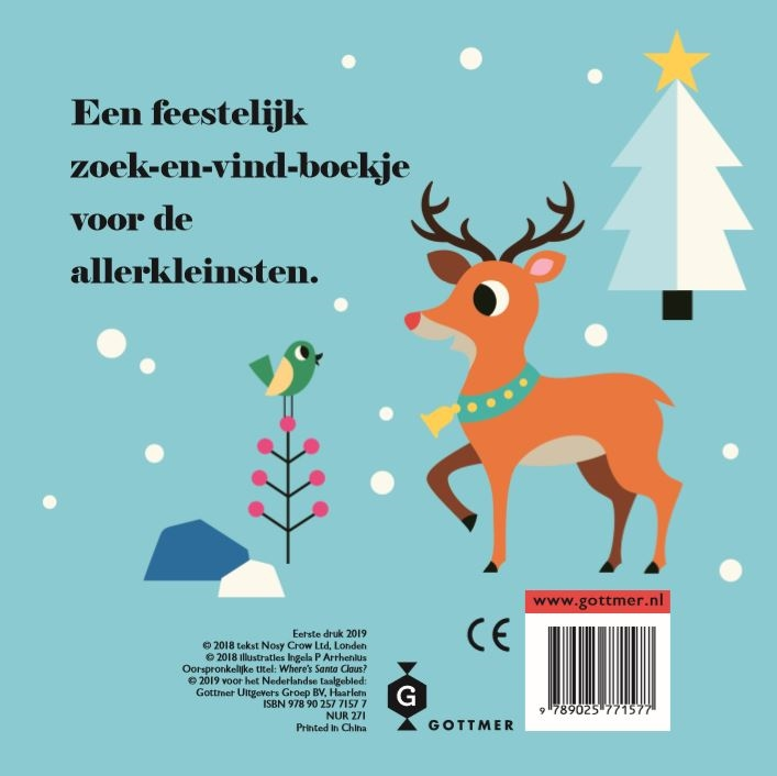 Ingela P. Arrhenius,Kerstman, waar ben je?