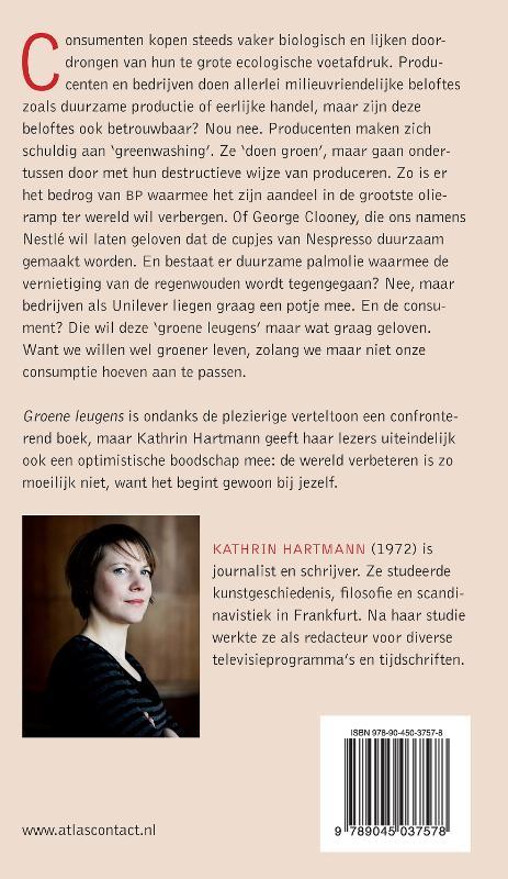 Kathrin Hartmann,Groene leugens